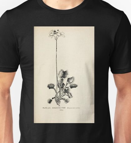 Southern wild flowers and trees together with shrubs vines Alice Lounsberry 1901 062 Venus Fly Trap Unisex T-Shirt