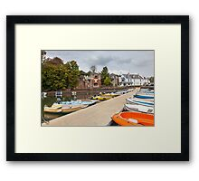 Stoke Gabriel South Hams Devon Framed Print
