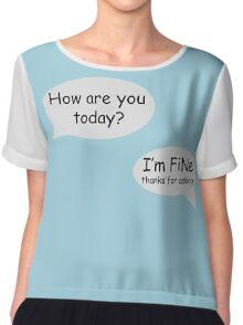 FiNe (infp) Chiffon Top