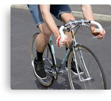 Chrome Fixie Canvas Print