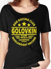 Gennady Golovkin Boxing Club Women's Relaxed Fit T-Shirt