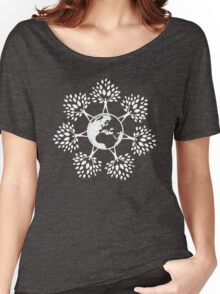 Earth Tree People (white) Women's Relaxed Fit T-Shirt