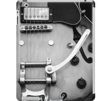 Gibson Electric Guitar Monochrome  iPad Case/Skin