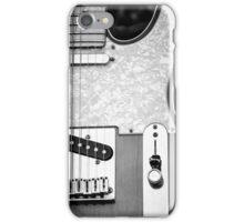 Fender Telecaster Monochrome iPhone Case/Skin