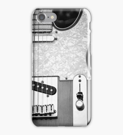 Fender Telecaster Monochrome iPhone Case/Skin