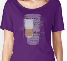 theory and correlation Women's Relaxed Fit T-Shirt