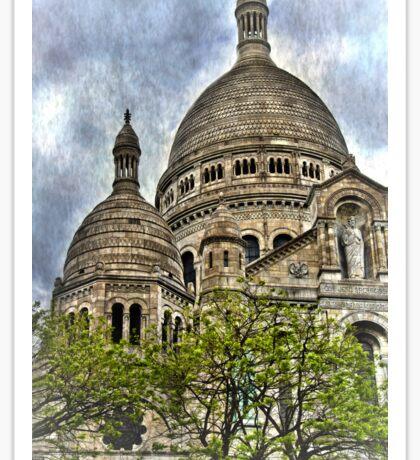 Basilica of Sacre Coeur, Montmatre Paris Sticker