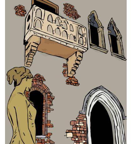 Juliet's home,Verona Italy Sticker