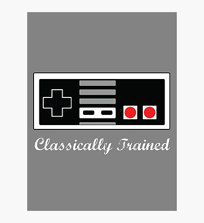 Classically Trained in the Art of NES Photographic Print