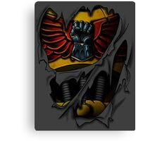 Imperial Fists Armor Canvas Print