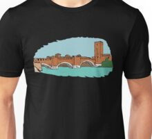 Castel Vecchio Bridge,Verona Unisex T-Shirt