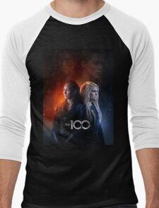 the 100 Men's Baseball ¾ T-Shirt