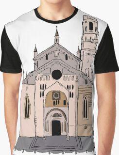 Verona Cathedral Graphic T-Shirt
