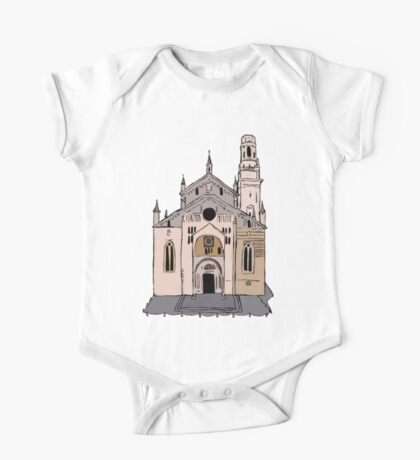 Verona Cathedral One Piece - Short Sleeve