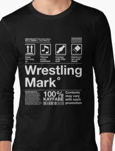 Wrestling Mark Manual! Long Sleeve T-Shirt