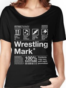 Wrestling Mark Manual! Women's Relaxed Fit T-Shirt