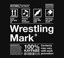 Wrestling Mark Manual! Unisex T-Shirt