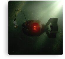 Glassfish Electronics - Album cover Canvas Print