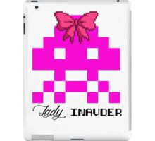 Lady Invader iPad Case/Skin