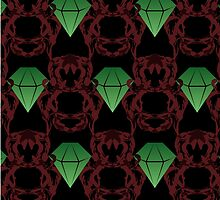 Emeralds & Demons [BLACK] by Daniel Bevis