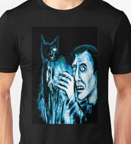 The Black cat reveals the gallows Unisex T-Shirt