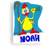 Rick the chick & Friends - Noah Canvas Print