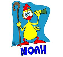 Rick the chick & Friends - Noah Photographic Print