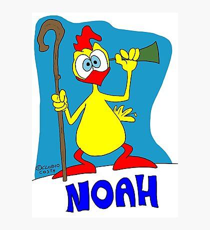 Rick the chick & Friends - Noah Photographic Print