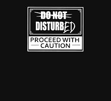 Disturbed Proceed With Caution Logo Unisex T-Shirt