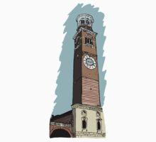 Lamberti Tower,Verona Baby Tee