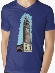 Lamberti Tower,Verona Mens V-Neck T-Shirt