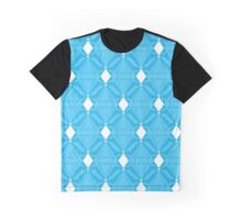 Abstract Emeralds [BLUE] Graphic T-Shirt
