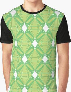 Abstract Emeralds [GREEN] Graphic T-Shirt