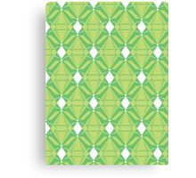 Abstract Emeralds [GREEN] Canvas Print