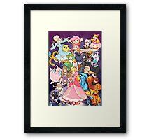 Smash Sisters Framed Print