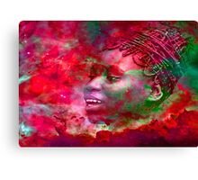 Goddess of Fire Canvas Print