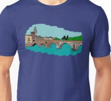 Stone Bridge,Verona Unisex T-Shirt