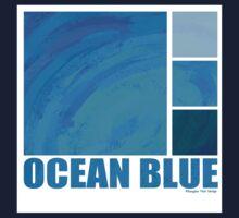 Ocean Blue Kids Tee
