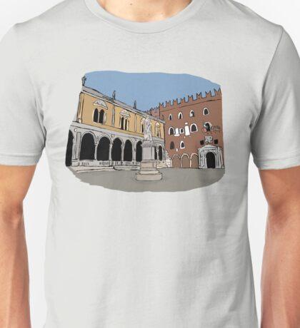 Signori Square,Verona Unisex T-Shirt