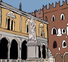 Signori Square,Verona Sticker
