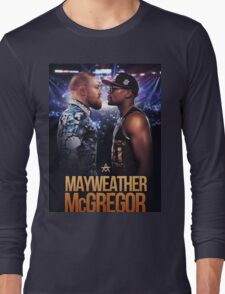 mayweather vs mcgregor Long Sleeve T-Shirt
