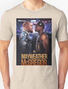 mayweather vs mcgregor Unisex T-Shirt