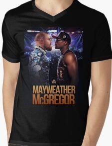 mayweather vs mcgregor Mens V-Neck T-Shirt