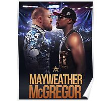 mayweather vs mcgregor Poster
