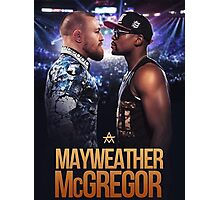 mayweather vs mcgregor Photographic Print