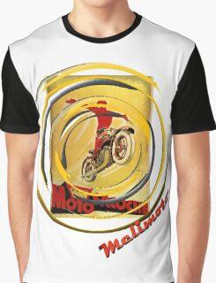 Moto Socochemoto flying biker Graphic T-Shirt