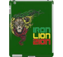 Reggae Rasta Iron, Lion, Zion 3 iPad Case/Skin