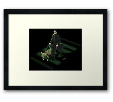Side Effect Framed Print