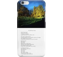 The Old Blue Truck Fine Art  iPhone Case/Skin