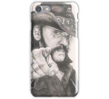 Lemmy Kilmister of Motorhead iPhone Case/Skin